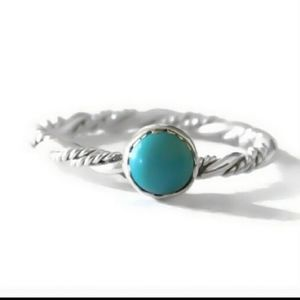 💖.925 silver/turquoise ring💖
